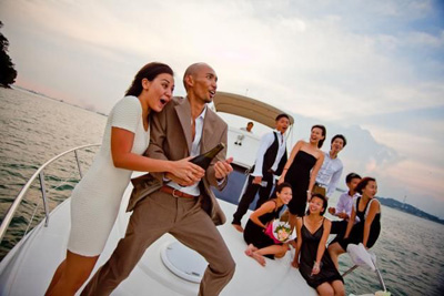 yacht party in Goa